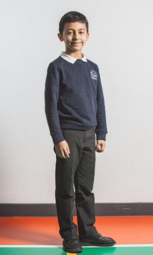 The Rise School primary uniform image