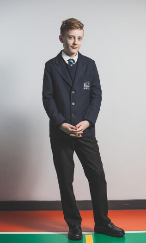 The Rise School secondary uniform image